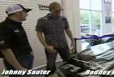 Rodney With Johnny Sauter